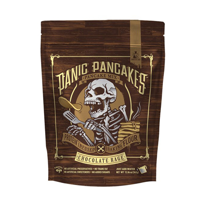 NGT Sinister Labs SinFit Panic Pancakes Mix Μείγμα για Pancakes Chocolate Rage 342gr