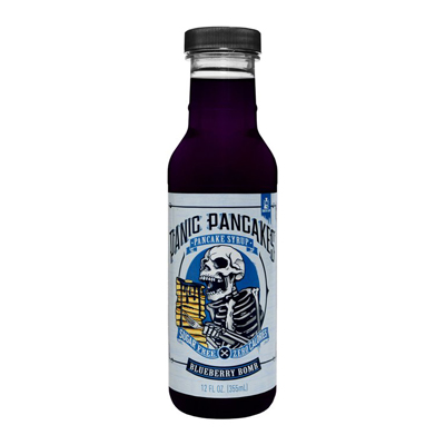 NGT Sinister Labs SinFit Pancake Syrup Σιρόπι για Pancakes Blueberry Bomb 355ml