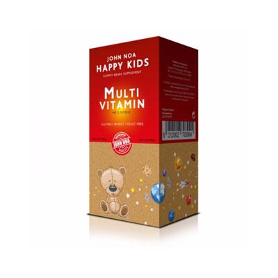 John Noa Happy Kids MultiVitamin 90 ζελεδάκια